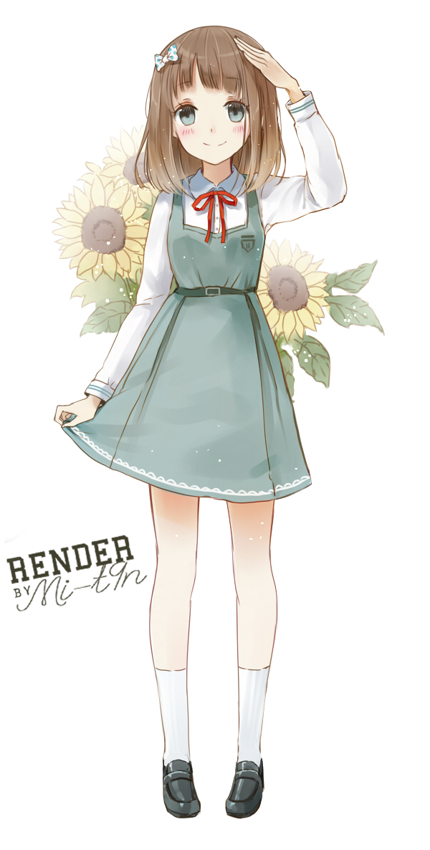 Render menina anime png [5] by Mi-t9n render