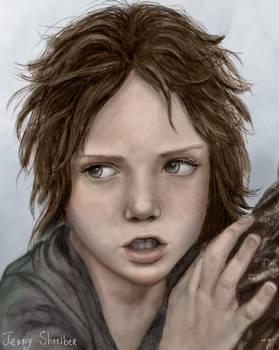 Arya of House Stark - close up