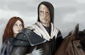 A Knight in Shining Armor by jekaa