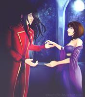 Request: Tasu and Leo by Loohcifer