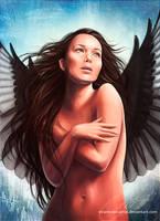 Katniss Everdeen... Mockingjay (The Hunger Games) by strannaya-anna