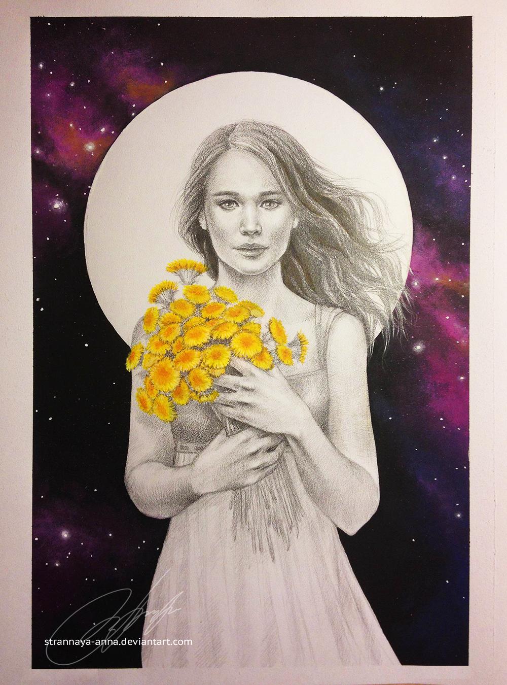 Katniss Everdeen. The Hunger Games. by strannaya-anna