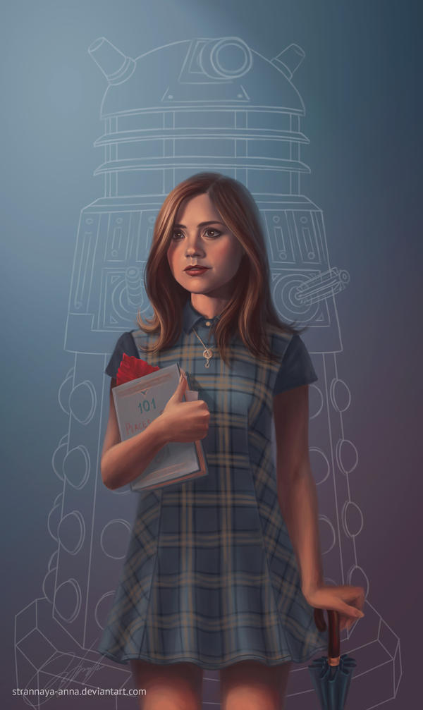 The Impossible Girl. Clara Oswin Oswald by strannaya-anna