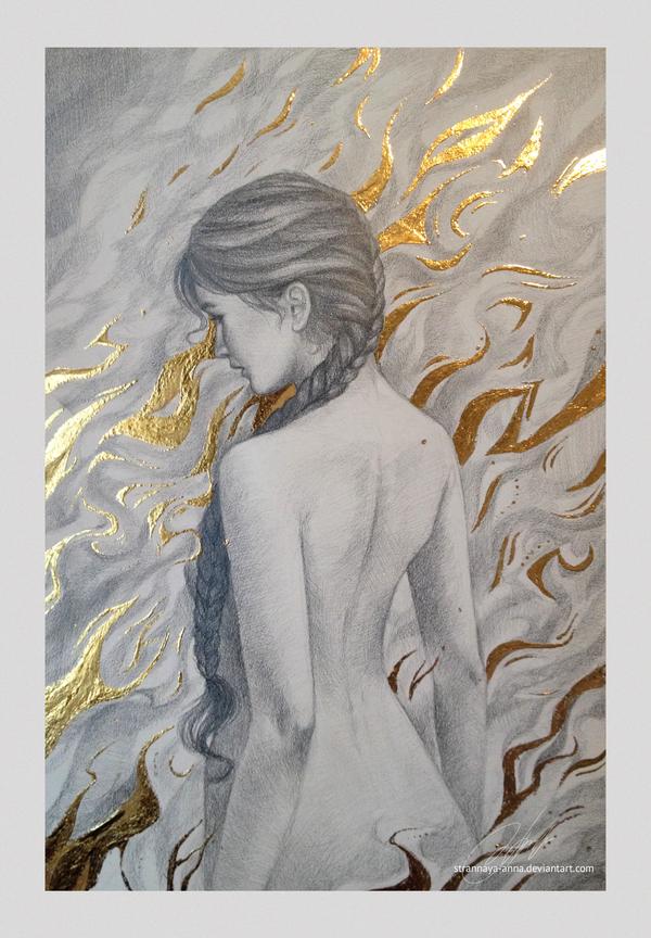 The Fire Mutt by strannaya-anna