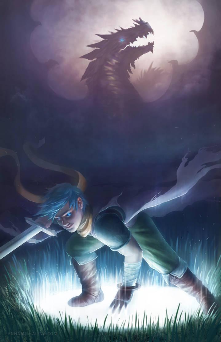 Ryu. Breath of Fire III by strannaya-anna