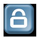 Lock Button by wordstofyre