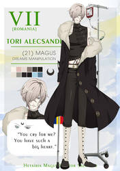 HMLS: Tori Alecsandri by usae