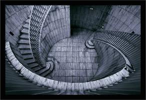 Stairs at La Defense Part I by wild-vortex