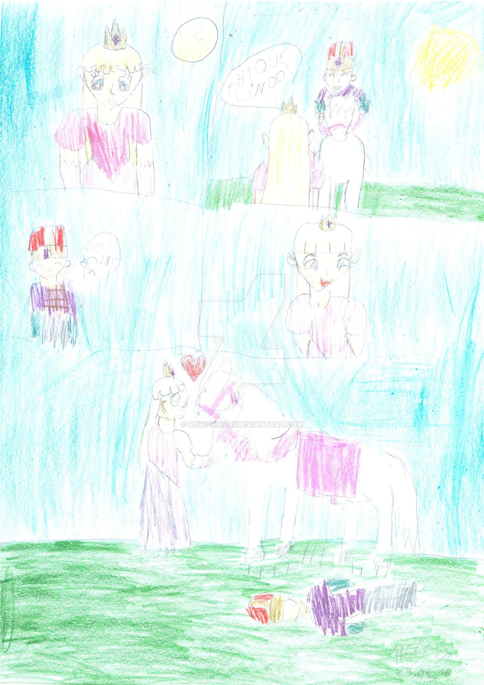 White horse... by Reinohikari