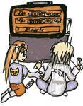 Emil and Marta playing KOR by Reinohikari