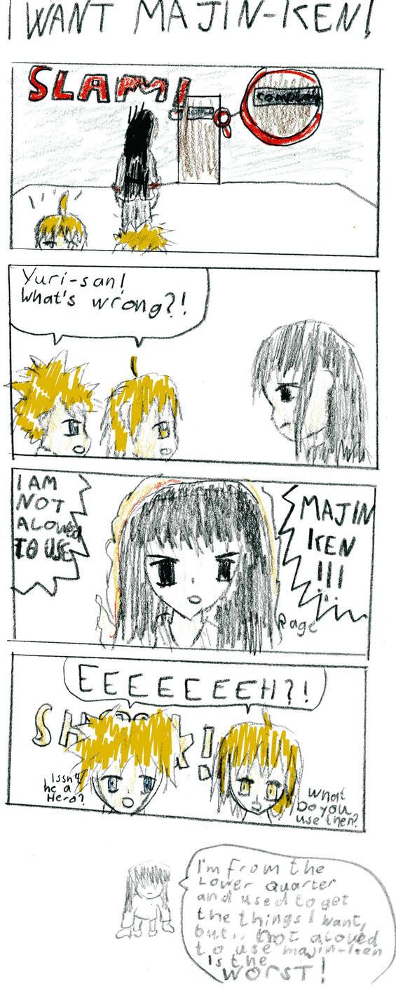 I Want Majin-Ken by Reinohikari