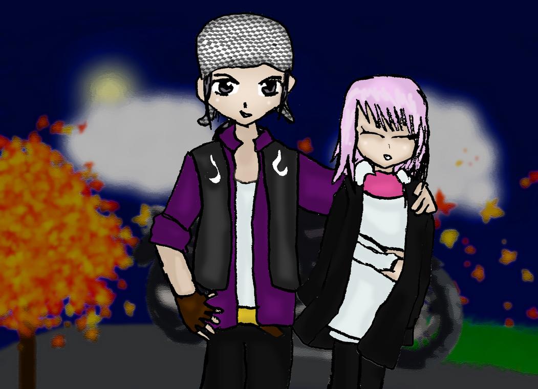 Estelle and Yuri in Norway by Reinohikari