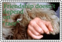 Friendship stamp by Reinohikari