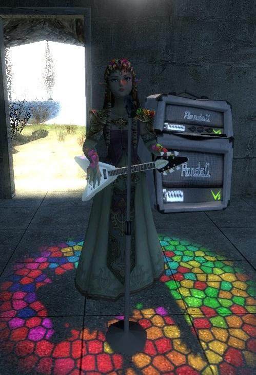 Rocking Zelda by Reinohikari