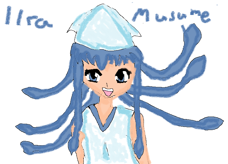 Ika-musume by Reinohikari