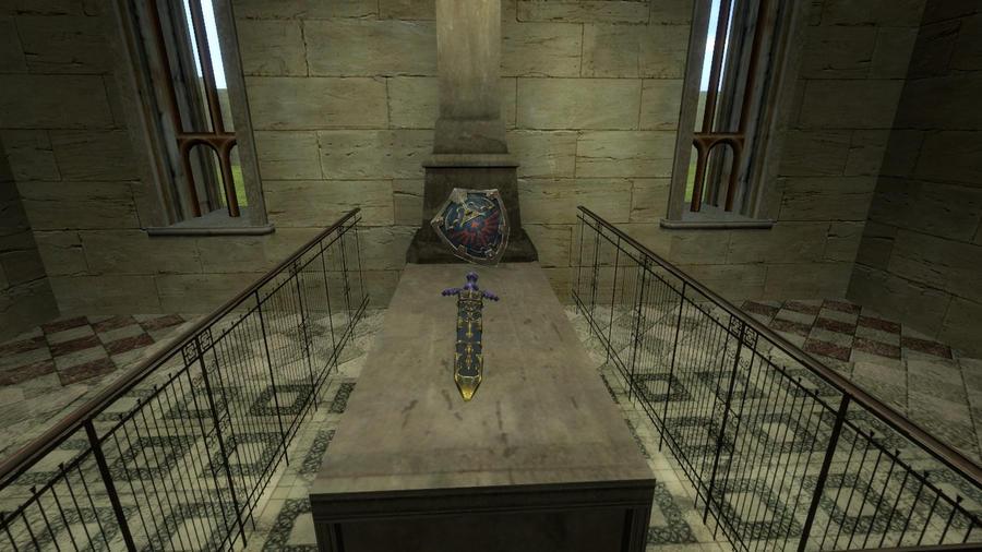Link's Grave by Reinohikari