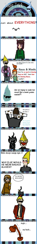 Spoilerful Ghost Trick Meme by Reinohikari