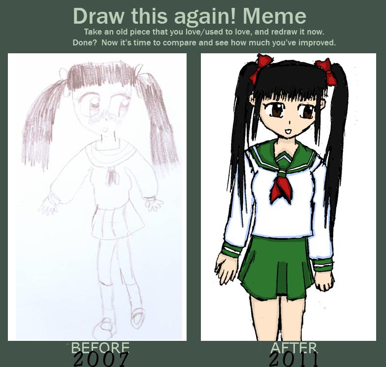 Improvement Meme O,O by Reinohikari