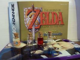 Zelda Mini Mini Bottles by Reinohikari