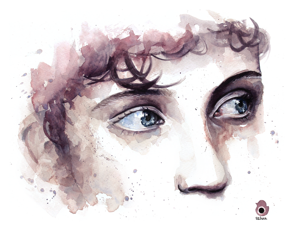 Just troye and his wonderful eyes by szluu on deviantart for Tumblr painting art
