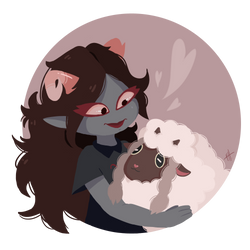 .:Aradia and Wooloo:.