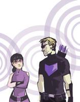 Hawkeyes by ComickerGirl