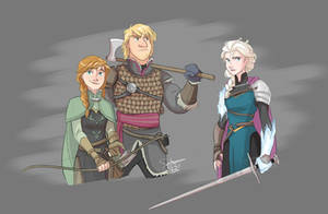 Frozen Knights by ComickerGirl