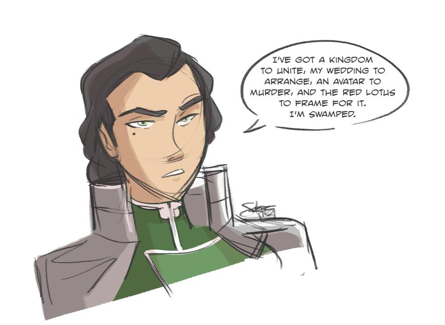 Kuvira's Swamped by ComickerGirl