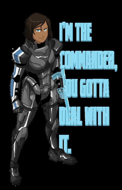 Commander Korra by ComickerGirl