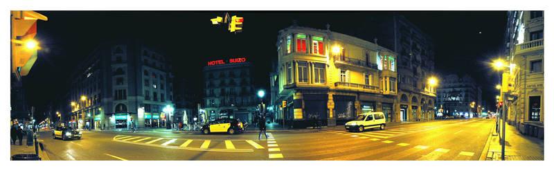 Via Laietana nights