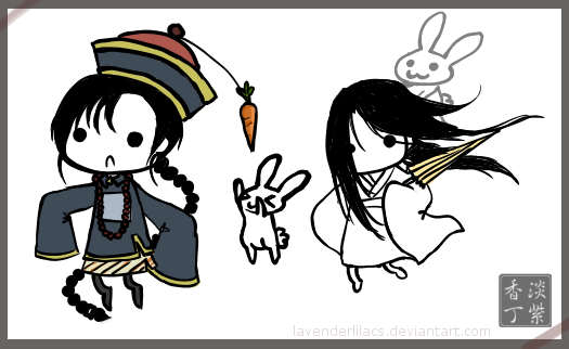 Deviant ID: Ghost + Guengshi by lavenly