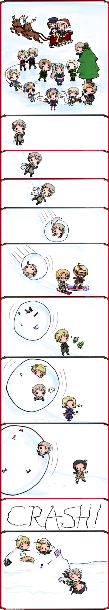 Hetalia: Winter Wonderland by lavenly