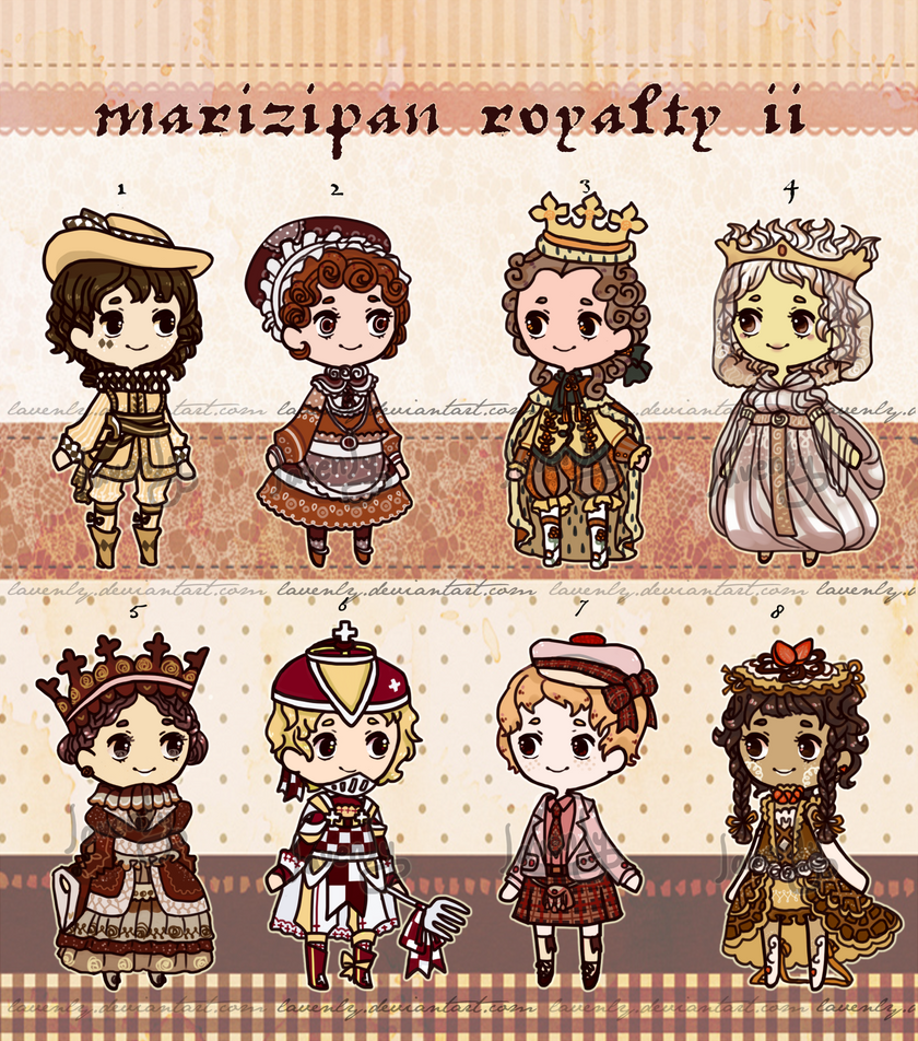 [OPEN] Marzipan Royalty II by lavenly
