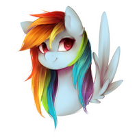 [MLP] Rainbow Dash by NutellaAkaNutella
