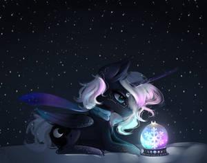 Winter and Luna