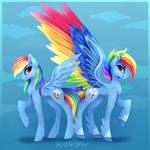 [MLP] Gen 5 and Mane 6 - Rainbow Dash