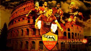 AS Roma - The rise of fallen warriors (Wallpaper)