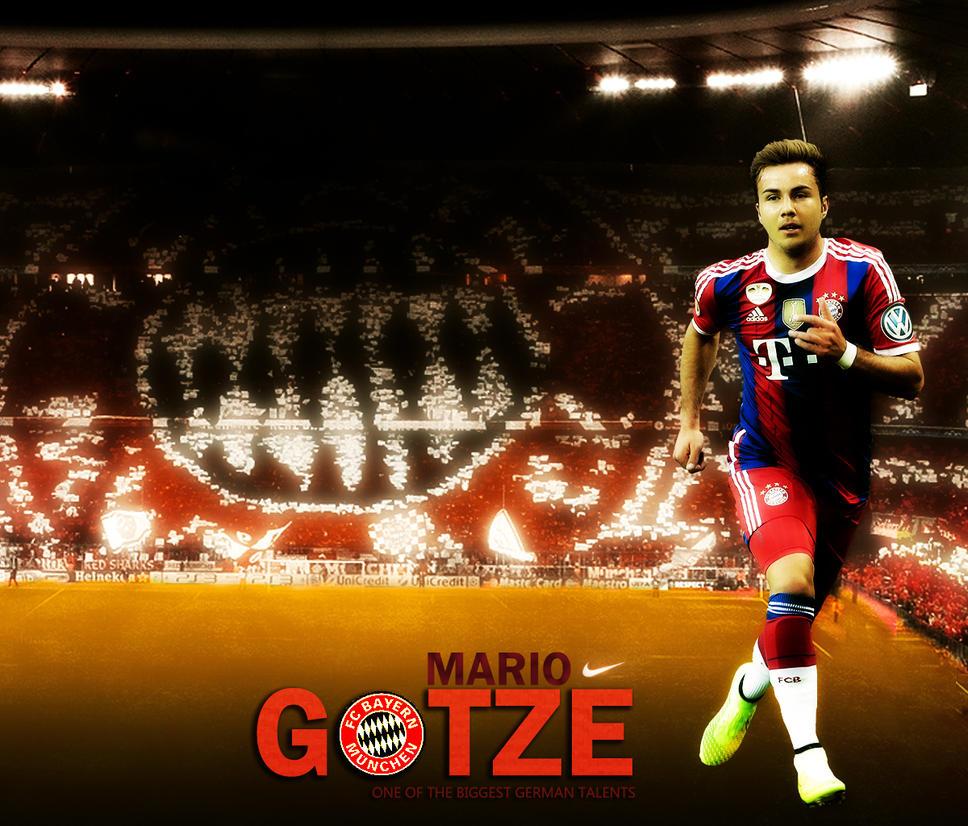 Mario Gotze Bayern Wallpaper by RakaGFX on DeviantArt