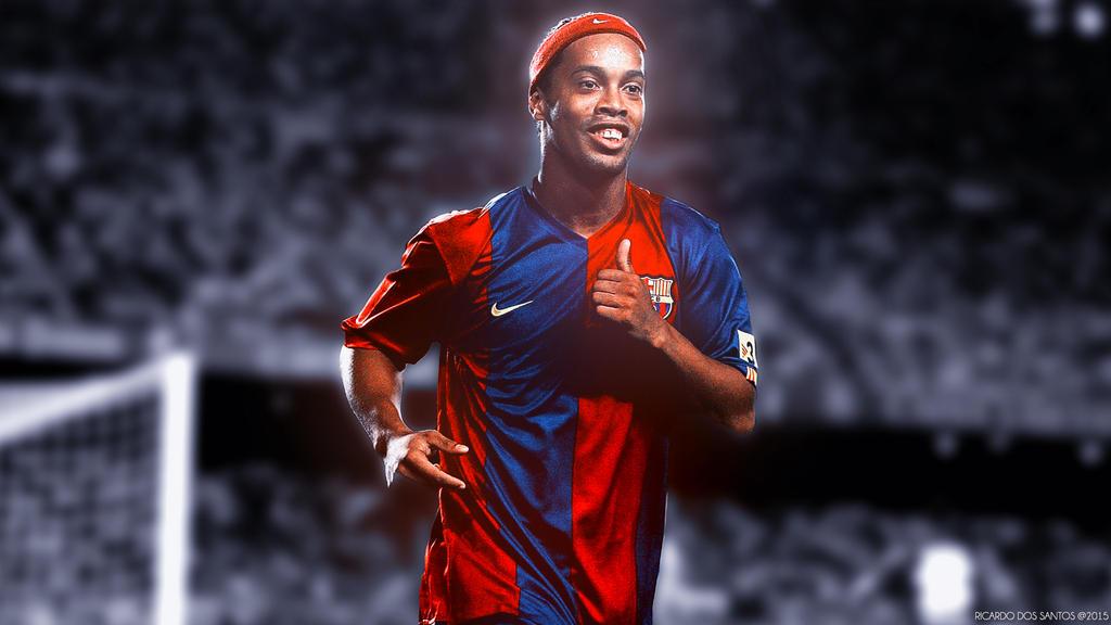 Ronaldinho wallpaper by rakagfx on deviantart - Ronaldinho wallpaper ...