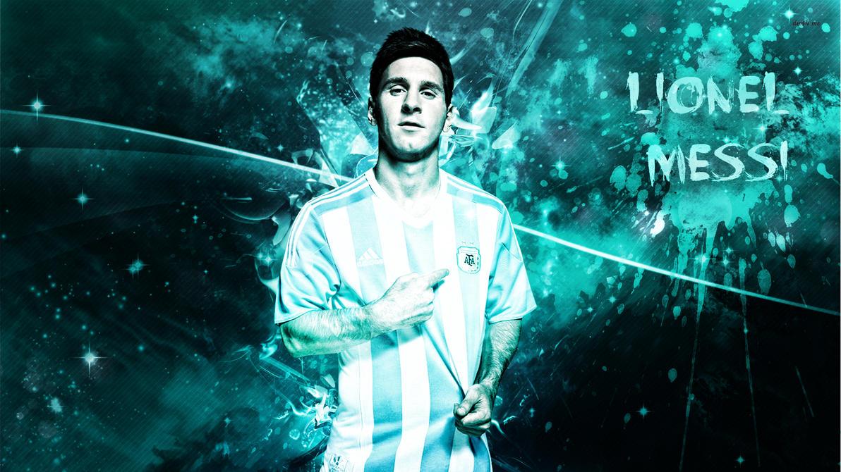 Lionel Messi 2015 Wallpaper By RakaGFX