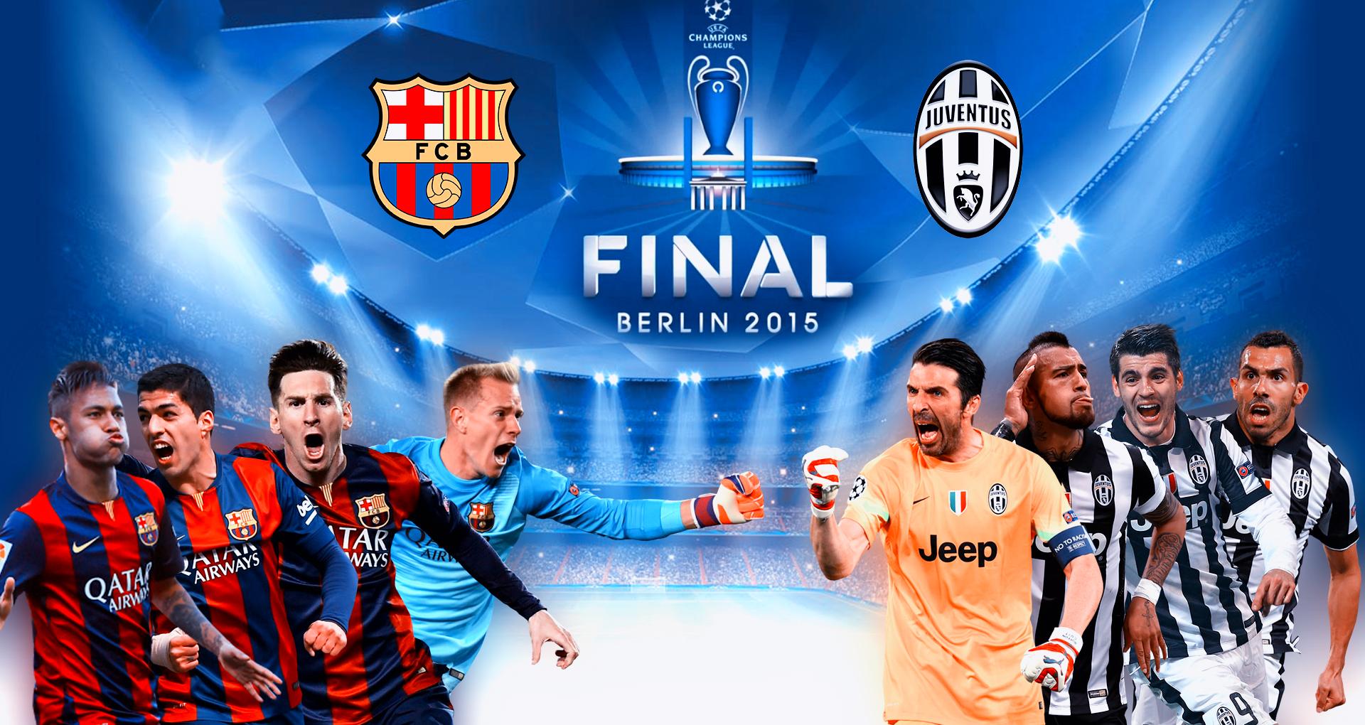 Barcelona Vs Juventus Ucl Final Berlin Wallpaper By Rakagfx On Deviantart