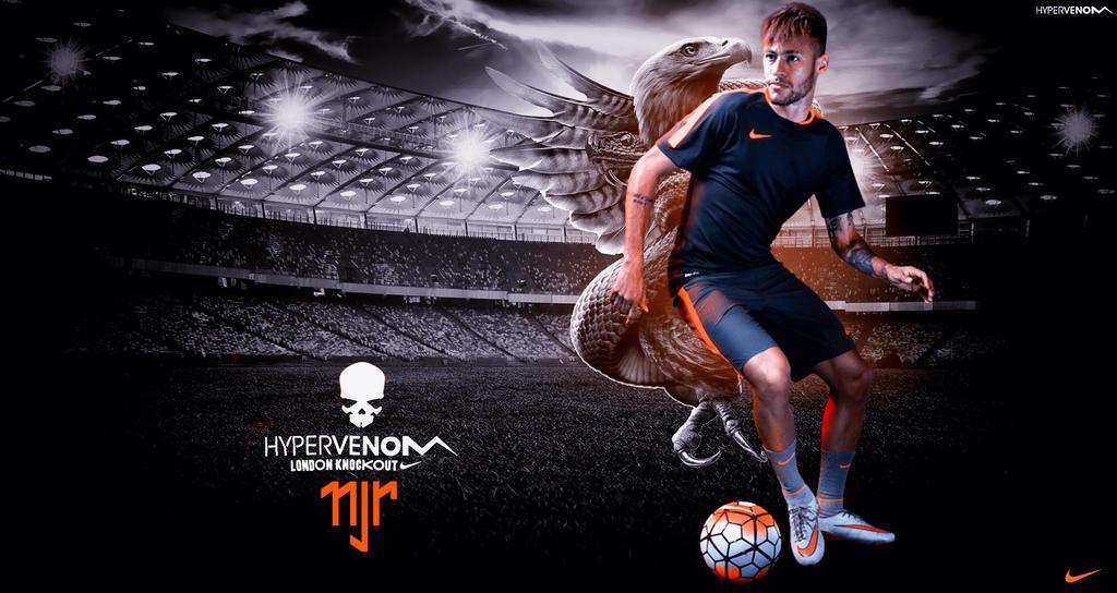 neymar 2015 nike hypervenom wallpaper by rakagfx on deviantart