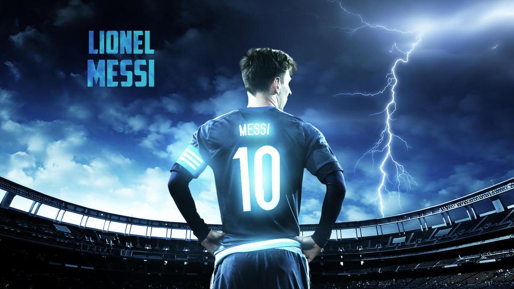 Lionel Messi 2015 Argentina Wallpaper By RakaGFX