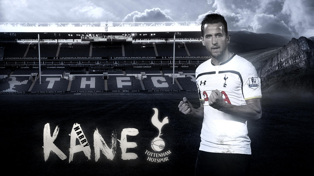 Harry Kane Wallpaper Tottenham Hotspur By Rakagfx On Deviantart