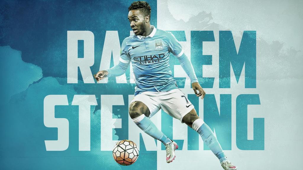 Manchester City Raheem Sterling Wallpaper