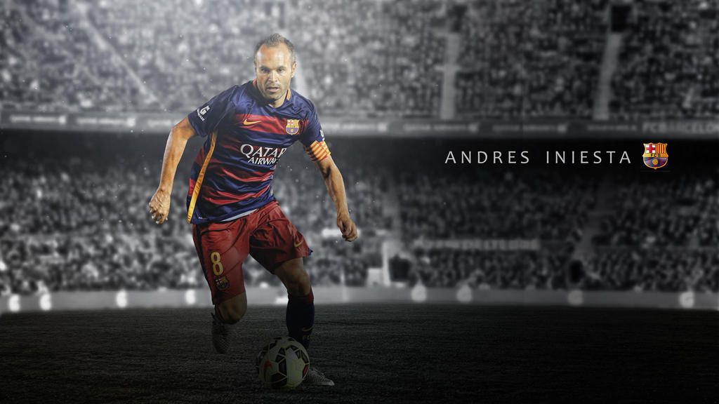 I Miss You Wallpapers Pictures 2015 2016: Andres Iniesta 2015/2016 Wallpaper By RakaGFX On DeviantArt