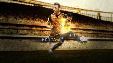 Mesut Ozil 2015/2016 Wallpaper by RakaGFX