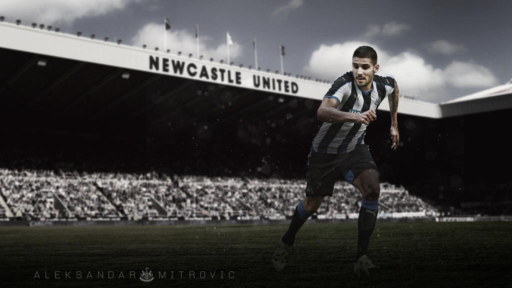 Aleksandar Mitrovic Newcastle United Wallpaper By Rakagfx On Deviantart