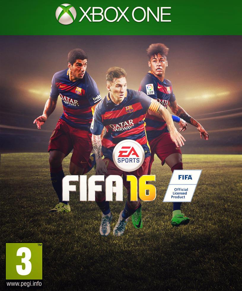 Fifa 16 Cover Neymar