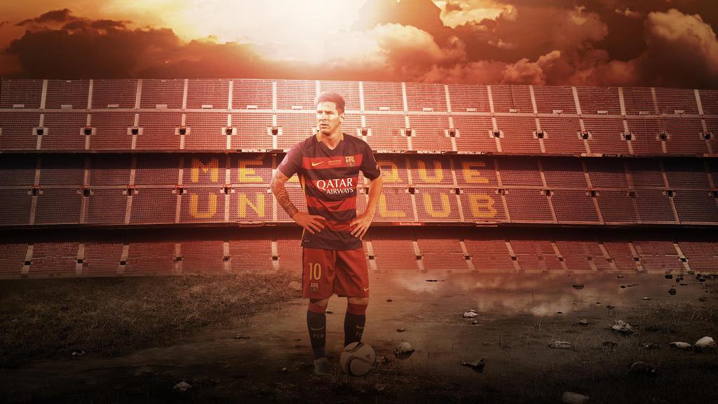 Lionel Messi 2015 2016 Wallpaper By RakaGFX